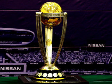 File picture of the 2019 ICC Cricket World Cup Trophy. Reuters