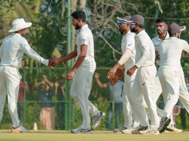 Kerala created history by securing place in semi-finals of Ranji Trophy for the first time. PTI
