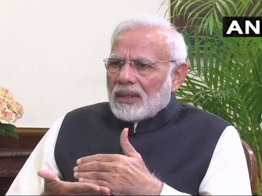 Narendra Modis interview to ANI shows hes positioning himself as the insurgent once again in 2019