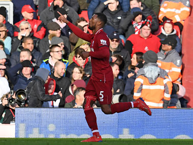 Premier League Georginio Wijnaldum puts illness aside to show value to Liverpool midfield in win over Bournemouth
