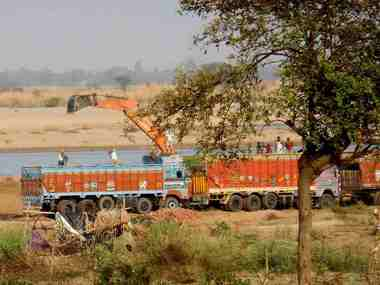 Illegal sand mining Part 3 Bihar govts attempted crackdown sends prices soaring officials face axe as rivers in ruin