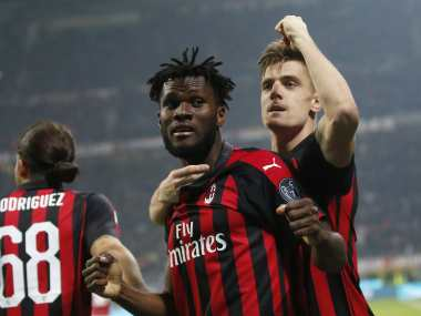 Serie A Striker Krzysztof Piatek scores again as AC Milan keep Champions League ambitions on track with win over Empoli