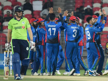Afghanistan were too good for Ireland as they comfortably won all three games. Image credit: Twitter/@ACBofficials