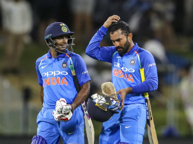 Ambati Rayudu and Dinesh Karthik are among the several contenders for middle-order slots in the Indian batting lineup. AP