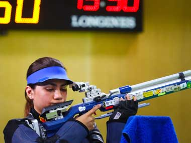 ISSF New Delhi Shooting World Cup 2019 Apurvi Chandela breaks world record to claim womens 10m air rifle gold