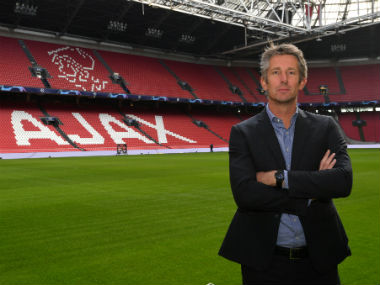 Former Manchester United goalkeeper Edwin van der Sar reappointed as Ajax chief executive until 2023