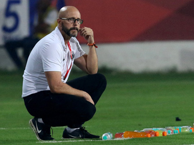 ISL 201819 Mumbai City FCs predictable patterns are difficult to break down says NorthEast United FC coach Eelco Schattorie