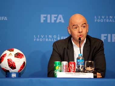 FIFA president Gianni Infantino urges Kuwait to host World Cup 2022 matches in event of expansion to 48 teams