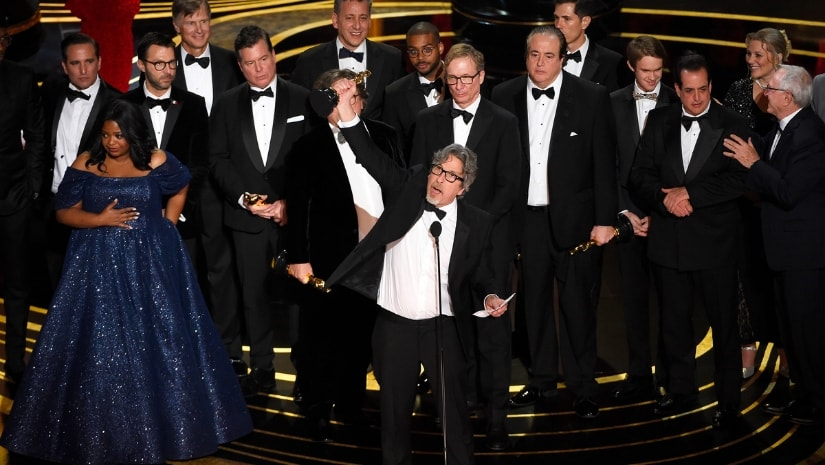Oscars 2019 Green Book wins Best Picture BlacKkKlansman director Spike Lee storms out during ceremony