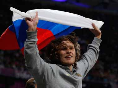 Former Olympic highjump champion Ivan Ukhov one of five athletes to file appeals against WADA issued bans