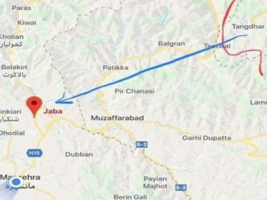 Surgical strike on Pakistan Exact target of IAF operation identified as Jaba Top air force carried out several hits around site
