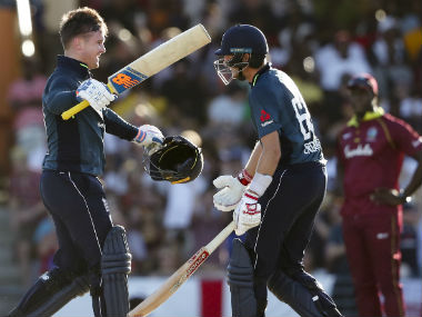 Both Jason Roy (123) and Joe Root (102) struck tons to guide England to their highest successful chase. AP