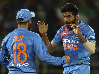 Jasprit Bumrah bowled a superb penultimate over to keep India in the hunt, before Umesh Yadav's 14-run over allowed Australia to pull off a narrow win. AP