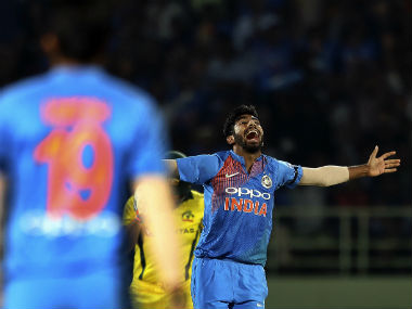 Jasprit Bumrah finished with figures of 3/26. AP