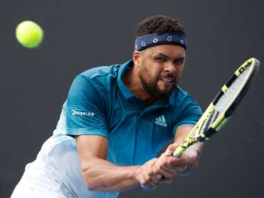 Monte Carlo 2019 Frenchman JoWilfried Tsonga retires in first round match against Taylor Fritz with back injury