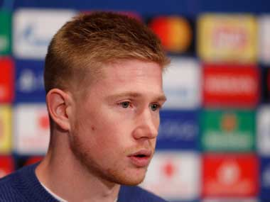 Premier League Manchester City will not change style of play despite hiccups says midfielder Kevin De Bruyne