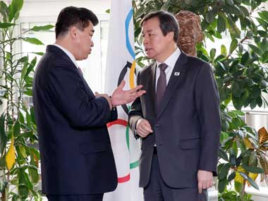 Tokyo 2020 Olympics North and South Koreas delegates meet with IOC to discuss better training programs combined team