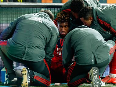 Champions League Kingsley Coman cleared for Bayern Munichs clash against Liverpool after injury scare