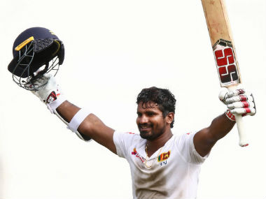 Kusal Perera remained unbeaten on 153 off 200 balls to guide Sri Lanka to an epic victory. AFP