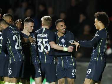 FA Cup Manchester City end battling Newport Countys dream run Brighton survive late Derby scare to reach quarters