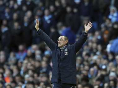Premier League Gianfranco Zola likens underfire Maurizio Sarris Chelsea struggle to Pep Guardiolas at Manchester City