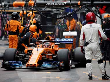 Formula 1 McLarens group revenues down by over 215 million due to COVID19 stoppage