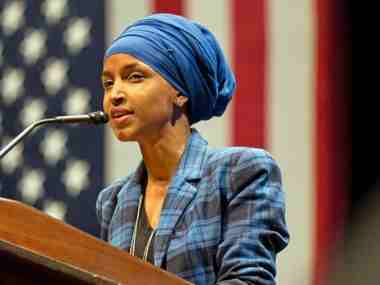 Ilhan Omar calls Donald Trump fascist after racist slogans at US presidents rally sparring with Democratic Congresswomen escalates
