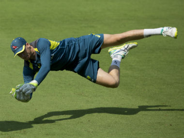 Peter Handscomb said he wouldn't mind keeping the wickets for the rest of the tour despite challenging Indian conditions. AP