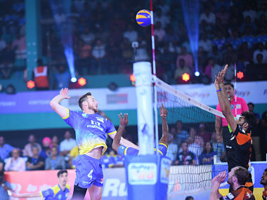 Pro Volleyball League David Lee spurs Kochi Blue Spikers to victory over gritty Black Hawks Hyderabad