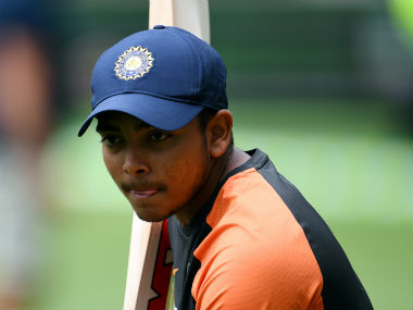 File picture of Prithvi Shaw. AFP