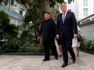 Kim Jongun says he is willing to denuclearise as Donald Trump walks away from deal over sanctions demand