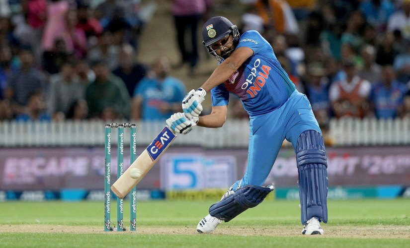 Rohit Sharma is now the join second most successful captain for India in T20Is. AP