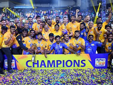 Pro Volleyball League Chennai Spartans stun Calicut Heroes in final to be crowned first PVL champions