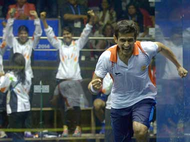 PSA World Squash Championship Indias Saurav Ghosal enters quarterfinal with closely contested win over Joel Makin
