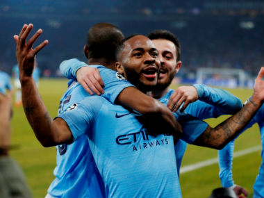 Champions League Raheem Sterling seals dramatic victory for 10man Manchester City against Schalke in first leg