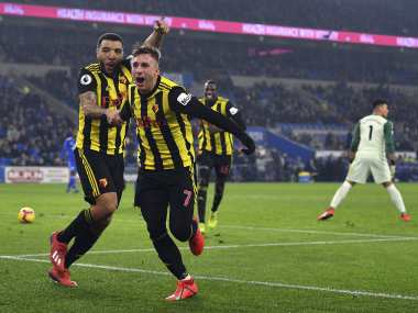 Premier League Gerard Deulofeu nets first ever hattrick in English football to help Watford rout Cardiff City