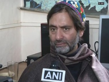 JKLF chief Yaseen Malik JamaateIslami leaders detained amid speculations of wider crackdown on separatists in JK