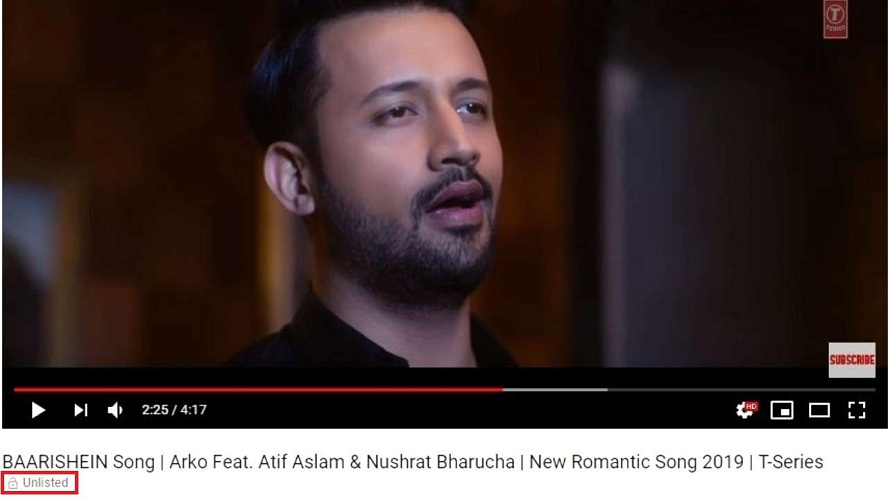 Pulwama attack TSeries reportedly unlists Atif Aslams single Baarishein from YouTube after MNS warning
