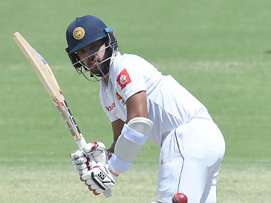 Sri Lanka's Kusal Mendis plays a shot during day four of the second Test cricket match between Australia and Sri Lanka at the Manuka Oval Cricket Ground in Canberra on February 4, 2019. (Photo by ISHARA S. KODIKARA / AFP) / -- IMAGE RESTRICTED TO EDITORIAL USE - STRICTLY NO COMMERCIAL USE --