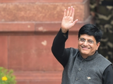 Piyush Goyal to embark on twoday visit to UAE today to seek FDI in petroleum railways aviation sectors
