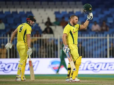 Aaron Finch struck back-to-back centuries to lead Australia to another thumping eight wicket victory over a hapless Pakistan. AFP