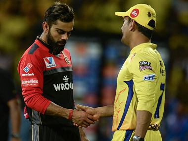 While RCB were out for 70 in 17.1 overs, CSK scored the runs in 17.4 overs and Dhoni made it clear that he would expect better wickets in the coming games. AFP