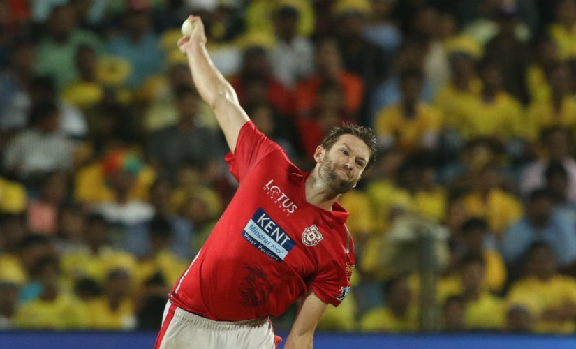Purple cap holder Andrew Tye finished with 24 wickets in IPL 2018. Sportzpiczs