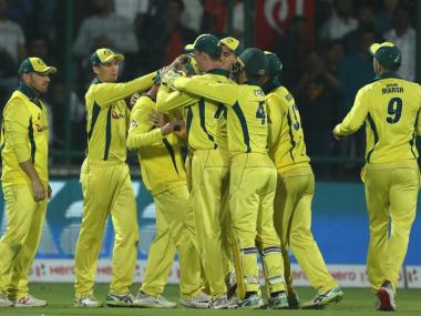 Australia defeated India by 35 runs in 5th ODI to clinch the series 3-2. Twitter @ICC