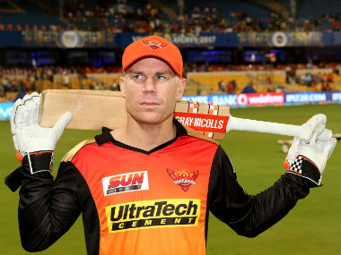 SRH opener David Warner will be making his return to the IPL, having sat out of the 2018 edition. Sportzpics