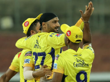 Harbhajan Singh won the Man of the Match award for his display of 3/20, which included crucial top-order wickets. Sportzpics