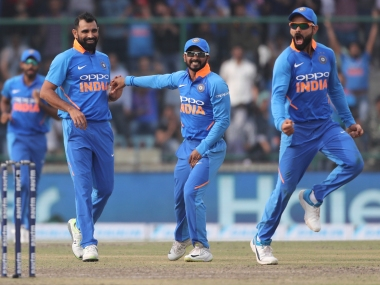 Mohammed Shami has had an outstanding return to ODI cricket, claiming 22 wickets in his last 13 games. AP