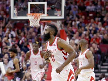 NBA James Harden scores 50point tripledouble to power Houston Rockets to victory over Sacramento Kings