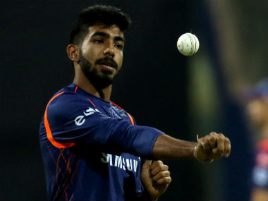 Jasprit Bumrah had suffered an injury scare on his left shoulder during the MI-DC game at the Wankhede. Sportzpics