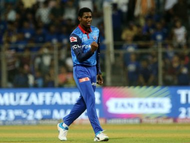 Keemo Paul is currently playing for Delhi Capitals in IPL 2019. Sportzpics